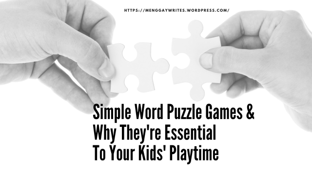 why are puzzle games important